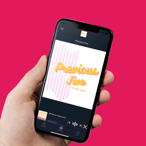 phone holding iphone album copy