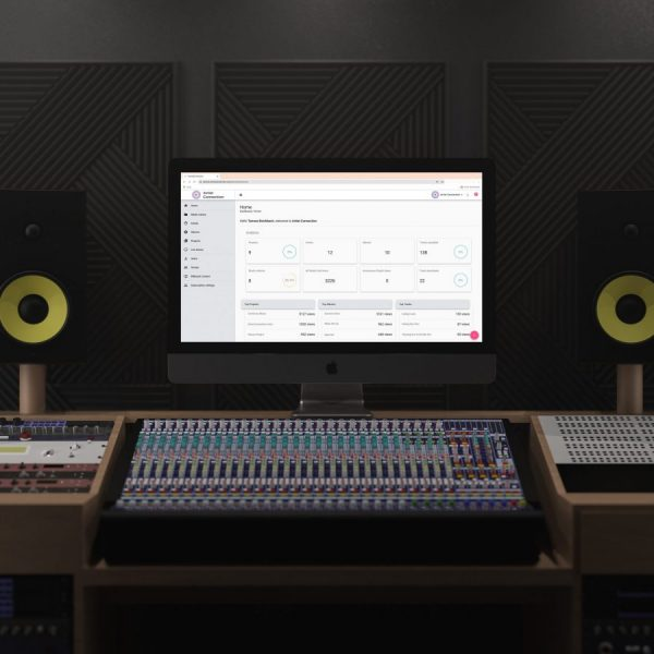 iMac Pro in Music Studio Mockup by Anthony Boyd Graphics